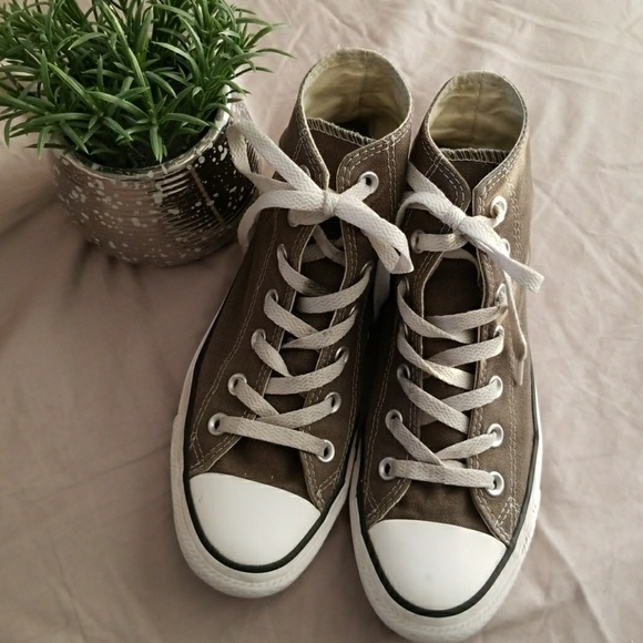Converse All Star Olive Green High Tops